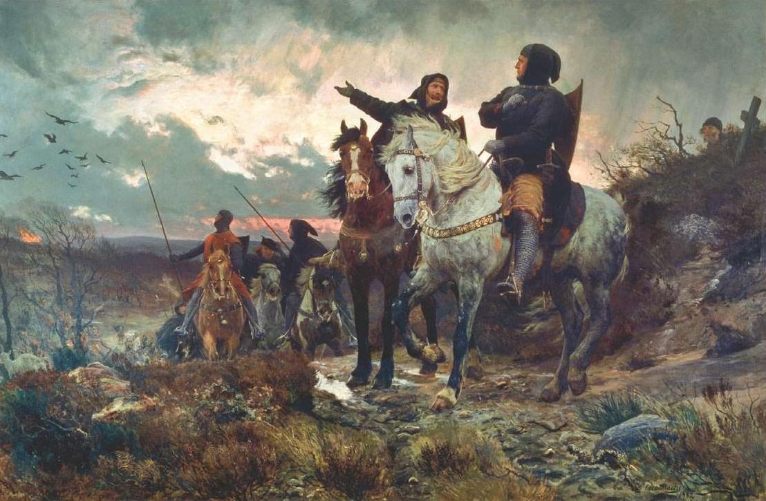 Otto Bache De sammensvorne rider fra Finderup